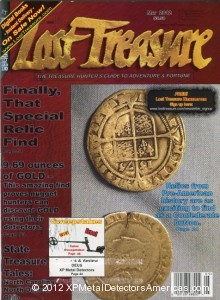 Lost Treasure magazine author Andy Sabisch field testd the XP DEUS metal detector in the May 2012 issue.