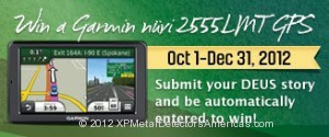 Enter your DEUS story for a Chance to Win a Garmin Nuvi 2555LMT GPS