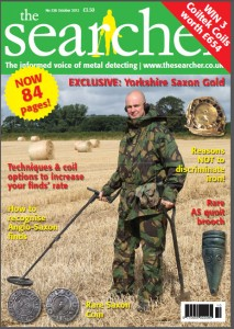 Searcher Magazine: XP DEUS Discovers Saxon Gold