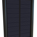 Solar charging unit for XP DEUS metal detector