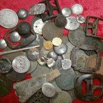 Here's a group shot of the better finds recovered with an XP Deus over a six-month period.