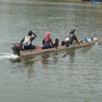 Our treasure hunting journey with the XP DEUS in Africa required travel by boat.